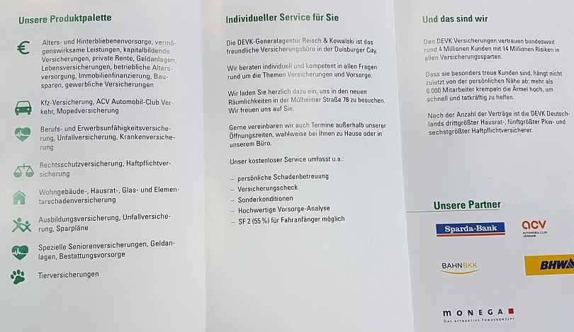 Bz Duisburg Total Lokal Devk Reisch Kowalski Mulheimerstr 76